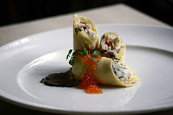 Oregon Dungeness Crab Crepe